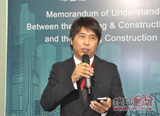 添加描述新加坡绿色建筑委员会主席戴礼翔