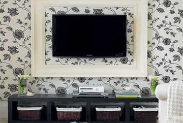 解读居室壁纸选择和搭配为居室锦上添花